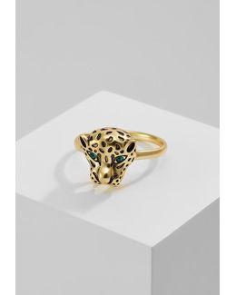 Pantha Head Ring