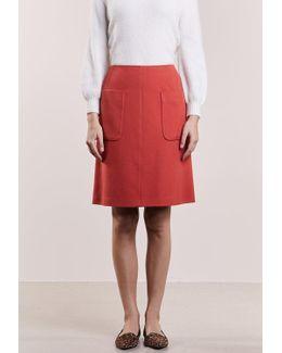 Saphir A-line Skirt