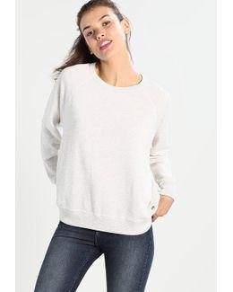 Small Tonal Embroidery Sweatshirt