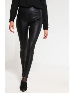 Sfsylvia Leather Trousers