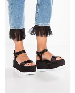 Emo Platform Sandals
