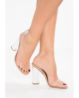 Clearer High Heeled Sandals