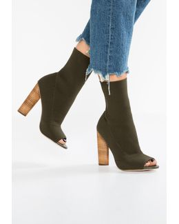 Dash High Heeled Ankle Boots