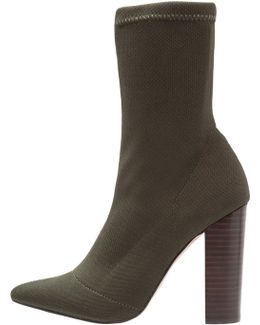Siena High Heeled Ankle Boots