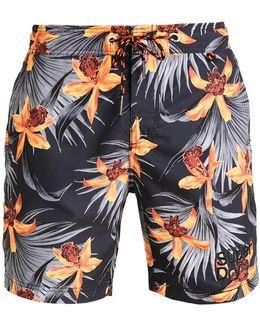 Vacation Paradise Swimming Shorts
