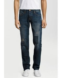 Rocco Red Selvage Straight Leg Jeans