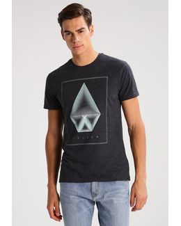 Concentric Print T-shirt