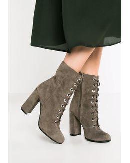 Teisha High Heeled Ankle Boots