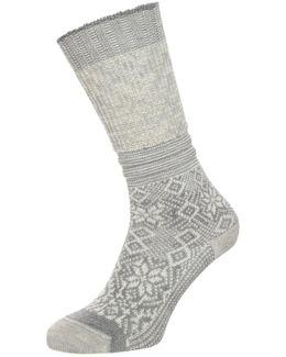 Snowflake Flurry Sports Socks