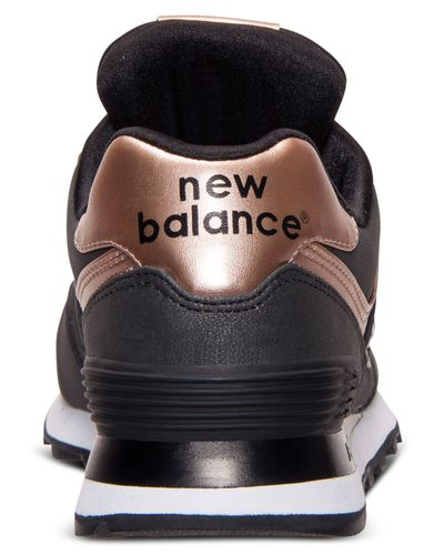 New Balance Women'S 574 Precious Metals Casual Sneakers From ...