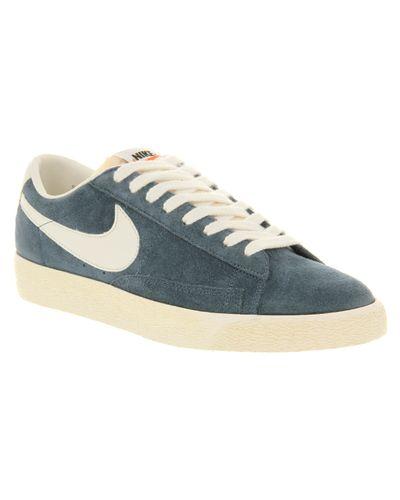 Nike Blazer Low Vintage Obsidian Blue for Men - Lyst