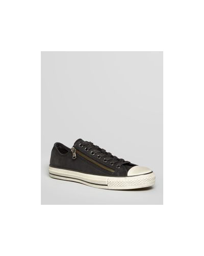 Converse Chuck Taylor All Star Double Zip Low Top Sneakers in ...