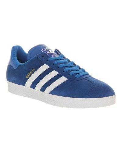 adidas Gazelle 2 Royal Blue White for Men - Lyst