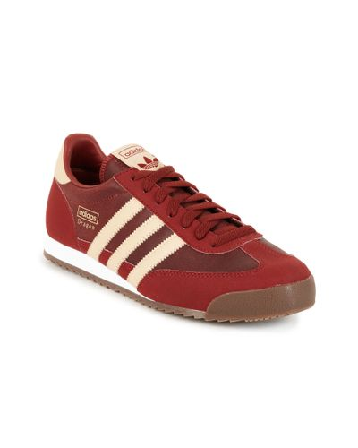 adidas Adidas Originals Dragon Sneakers in Red for Men - Lyst