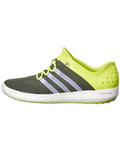 adidas Climacool® Boat Pure in Green for Men - Lyst
