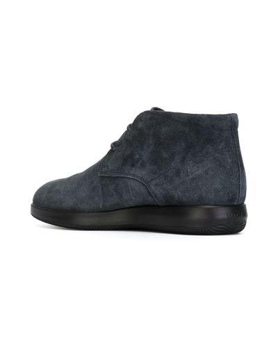 Hogan 'h209' Desert Boots in Grey (Gray) for Men - Lyst