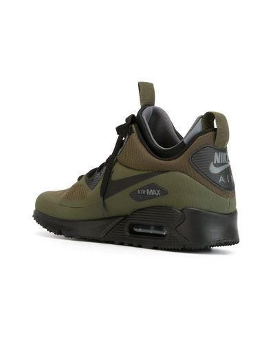 Nike Air Max 90 Mid Winter Sneaker Boots in Green for Men - Lyst