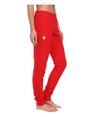 Puma Ferrari Sweat Pants In Red Lyst