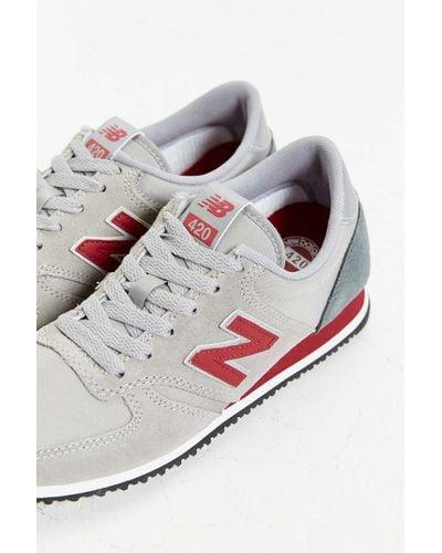 New Balance 420 '70s Running Sneaker in Grey (Gray) for Men - Lyst
