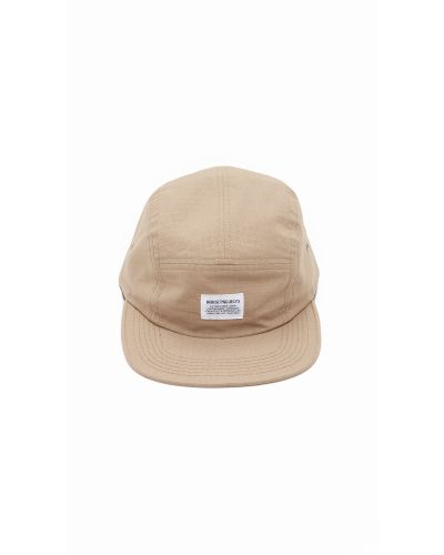 NORSE PROJECTS CLASSIC 5-PANEL STRAPBACK CAP CAMO KHAKI 6-PANEL HAT