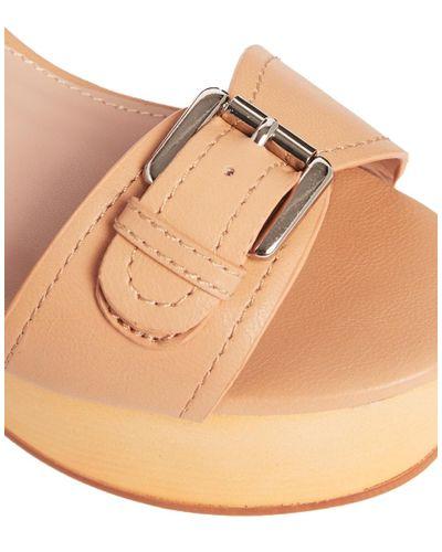 Miss Kg Stiletto Heel Strappy Sandals in Metallic - Lyst