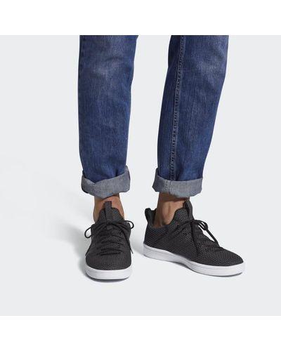 adidas Rubber Cloudfoam Advantage Adapt Shoes in Black for Men - Lyst