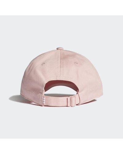 Casquette Stan Smith Coton adidas en coloris Rose - Lyst