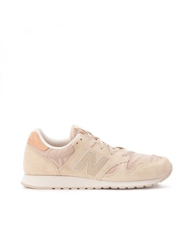 New Balance Suede Wl 520 Bs in Beige (Natural) - Lyst