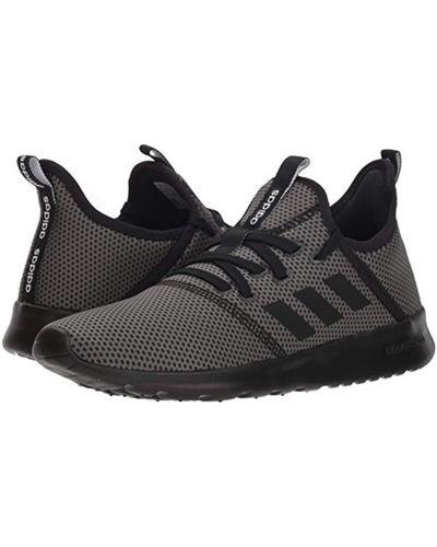 adidas Cloudfoam Pure Running Shoe in Black/Black/Grey (Black) for ...