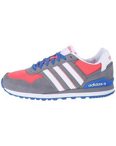 adidas Suede Neo 10k W Lifestyle Sneaker in Gray for Men - Lyst