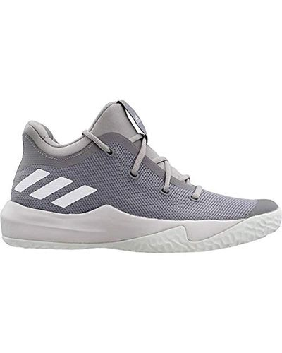 adidas Rise Up 2 Basketball Shoe in Gray for Men - Lyst