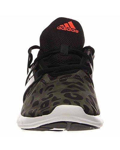 adidas Rubber Performance Climacool Leap M Running Shoe in Black ...