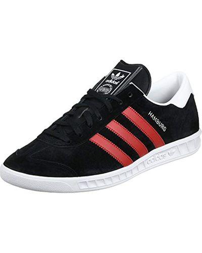 Hamburg, Chaussures de Tennis Homme, Gris, 42 EU Daim adidas pour ...