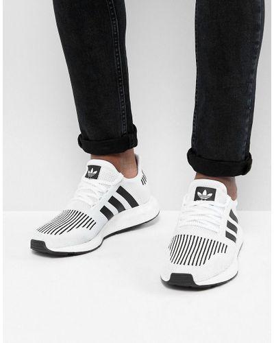 Adidas Originals Swift Run Sneakers In Gray Cq2116 for men