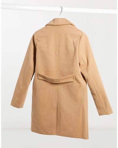 Fashion Union Double Ted Pea Coat, Fashion Union Pea Coat