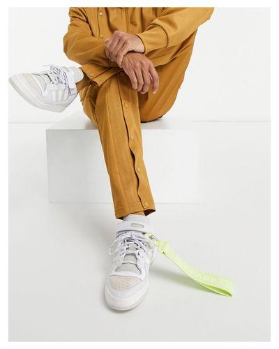 Adidas x - Forum - Baskets basses avec détails lilas Caoutchouc ...