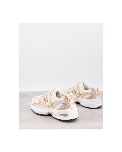 Zapatillas rosas con acabado metalizado 530 New Balance de Caucho ...
