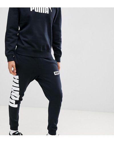 PUMA Rebel Joggers In Black for Men - Lyst