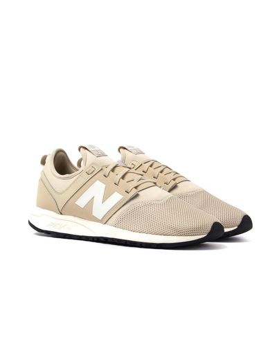New Balance 247 Beige Trainers in Natural for Men - Lyst