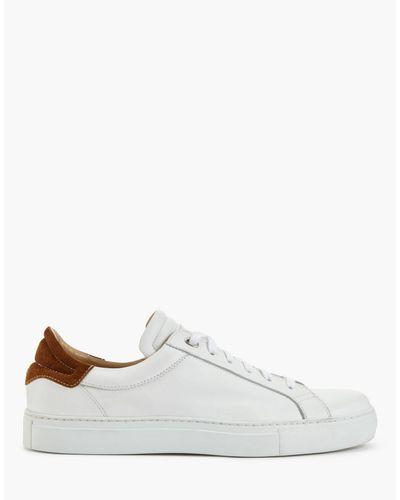 BELSTAFF Herren Schuhe Sneakers 77800238 Dagenham Phoenix White Black Leder Neu