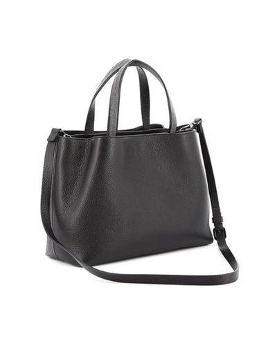 Fabiana Filippi Leather Black Bag - Lyst