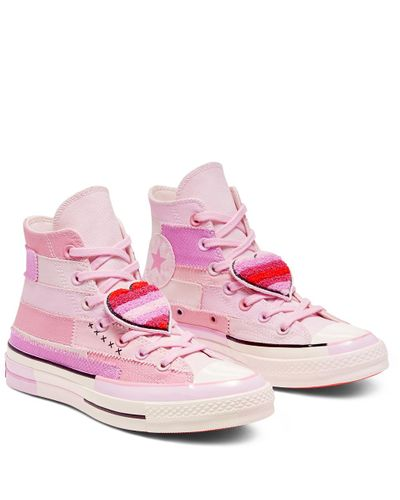 Converse X Millie Bobby Brown Chuck 70 In Pink Lyst