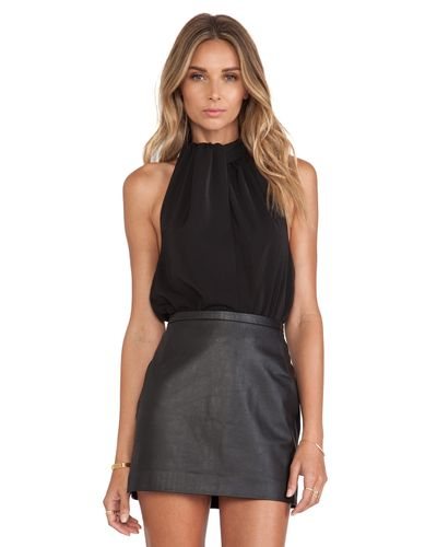 AQ/AQ Ruthie Bodysuit in Black - Lyst