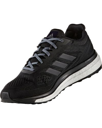 adidas Rubber Sonic Drive Running Shoes in Black for Men - Lyst
