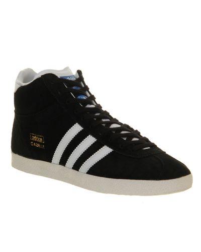 adidas Gazelle Mid in Black for Men - Lyst