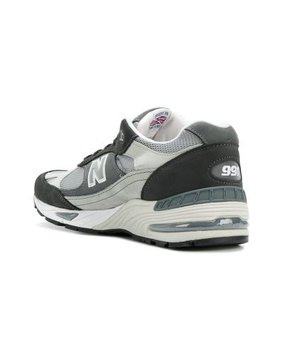 New Balance Leather 911 Made In Uk Sneakers in Grey (Gray) for ...