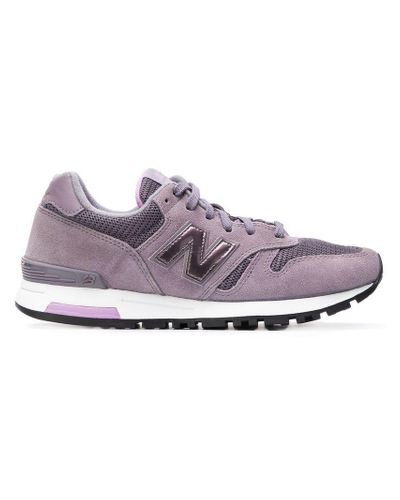 New Balance Suede 545 Sneakers in Pink - Lyst