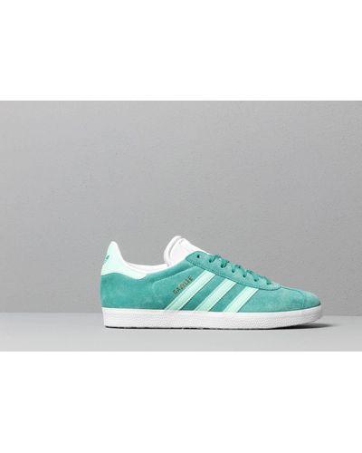 adidas Originals Suede Adidas Gazelle True Green/ Clear Mint/ Ftw ...
