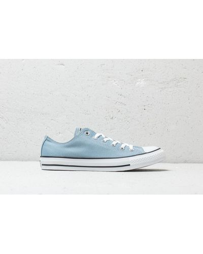 Converse Chuck Taylor All Star Ox Washed Denim in Blue for Men - Lyst