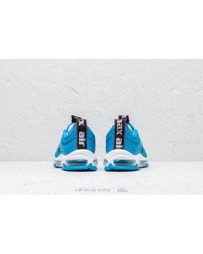 Air Max 97 Premium Blue Hero/ White/ Black Caoutchouc Nike pour ...